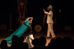 foto Renato Mangolin - Espetáculo Memórias do Pequeno Circo